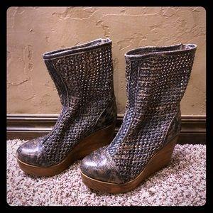 Bed Stu Cobbler Series Nevele Boot - Black Lux